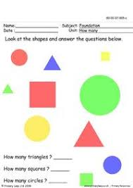 free shapes and colours nursery worksheets for kids