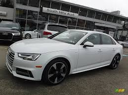 audi a4 2017 black 2017 audi a4 2 0t premium plus quattro in glacier white metallic