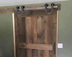 sliding barn door etsy