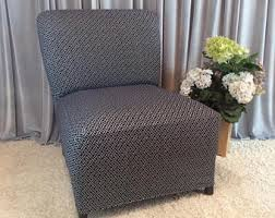 Accent Chair Slipcover Slipcover Black White Weave Stretch Chair Cover For Armless