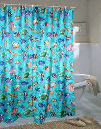Fish Curtains Home Fashions Tropical Fish Shower Curtain Multi Color P2723