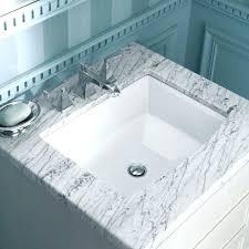 White Drop In Bathroom Sink Kohler Square Bathroom Sinksquare Sink Bathroom Sinks Drop In