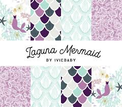 Boho Crib Bedding by Laguna Mermaid Bedding Baby Bedding Mermaid Baby Bedding Purple