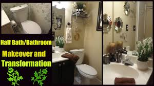 diy bathroom decor transformation and makeover youtube