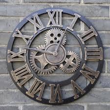 clocks large outdoor wall clock enchanting large outdoor wall