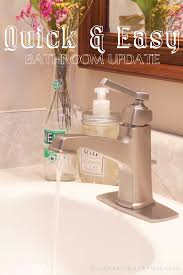 How To Change A Faucet In The Bathroom How To Install A Faucet One Simple Change To Update Your