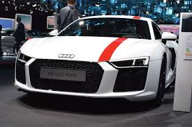new audi r8 rws limited edition model stable vehicle contracts