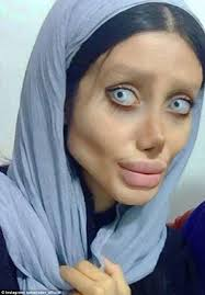 iranian women s hair styles instagrammer has 50 surgeries to look like angelina jolie daily