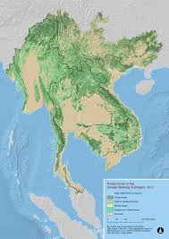 Mekong River Map Maps