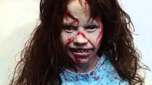 Exorcist Halloween Costume Regan Exorcist Lifesize Bust