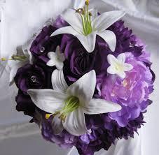 Purple Lillies White Lily Plum Purple U2013 Roses And Dreams