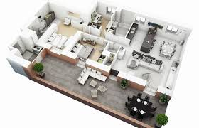 simple 3 bedroom house plans modern house plans floor plan for 3 bedroom split six large 2 with