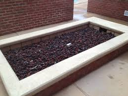 Custom Gas Fire Pits - custom gas fire pit created with components from www