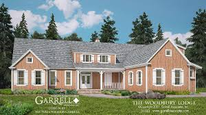 Home Plans Craftsman Style Woodbury Lodge House Plan House Plans By Garrell Associates Inc