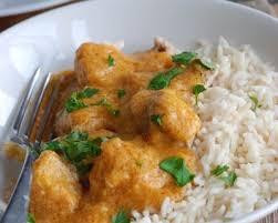 cuisiner poule recette blancs de poulet sauce curry de brigitte