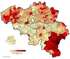2014 Election Map by Belgium Legislative Election 2014 Electoral Geography 2 0