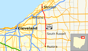 Cleveland Ohio Map by Ohio State Route 306 Wikipedia