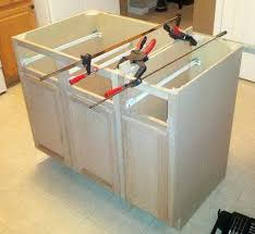 building an island in your kitchen building a kitchen island out of cabinets altmine co