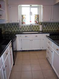 Kitchen Backsplash On A Budget Remodelaholic Kitchen Remodel On A Budget
