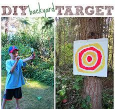 backyard archery set kid made archery target