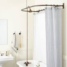 clawfoot tub shower conversion kit d style shower ring shower oil rubbed bronze