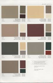 collections of colour schemes for exterior house paint free