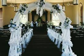 wedding decorations for church church wedding decoration add blessedness to your wedding