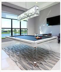 burj dubai 7 clear luxury pool table modern billiard table