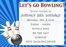 Ten Pin Bowling Sheet Template Ten Pin Bowling Invitation Duck Said Lets