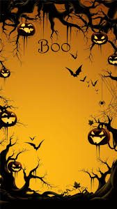 haunting halloween background 2014 boo halloween iphone 6 plus wallpaper with pumpkin on the
