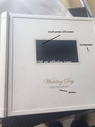 wedding album covers 12 18 inch wedding album cover with lcd buy wedding album cover