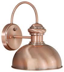 Copper Outdoor Lighting Vaxcel Franklin 10
