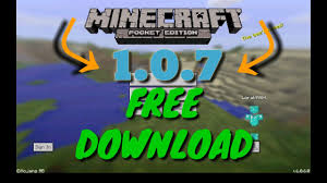 minecraft 7 0 apk minecraft pe 1 0 7 free apk android new official release