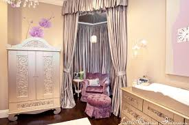 Purple Curtains For Nursery Purple And Gray Nursery Eclectic Nursery Crown Interiors