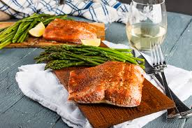 Cook Salmon In Toaster Oven Cedar Plank Salmon In The Oven Home Sweet Jones