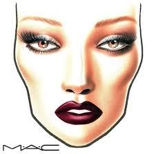 39 best mac face charts images on pinterest makeup makeup ideas