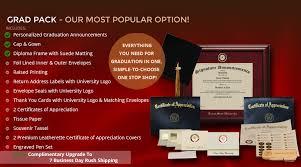 graduation packages state graduation announcements
