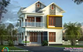 Cute small Kerala home design casas Pinterest