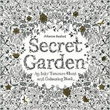 coloring book secret garden an inky treasure hunt and coloring book