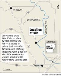 us map searcy arkansas slab pipes the spot missile silo killed 53