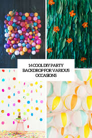 party backdrops 14 cool diy party backdrops for various occasions shelterness