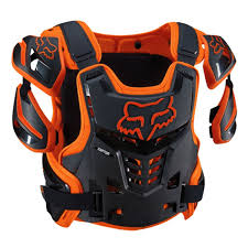 fox racing motocross gear amazon com fox racing raptor vest orange l xl automotive