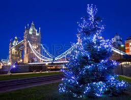 the beautiful regent street christmas lights in london stock