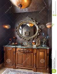 elegant bathroom sink counter top royalty free stock photography
