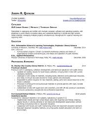 Academic Resume Librarian Resume Skills Free Resume Example And Writing Download