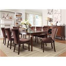 kingston dining room table acme furniture kingston round transitional formal dining table