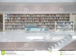 stuttgart public library editorial stock image image of minimal
