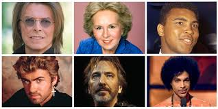 dead musicians and actors 2016 celebrity deaths in 2016 some of the many famous figures we lost