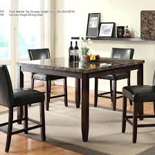 pub dining room table sets bar height place counter cheap set