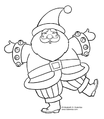 christmas santa claus coloring pages get coloring pages